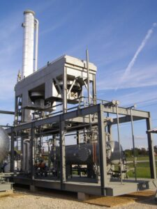 60 gpm amine gas plant