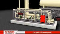 3-D Model of 120 MMSCFD Demethanizer Plant with Construction/Installation Pictures