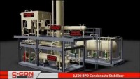 3-D Model of 2,500 BPD Condensate Stablizer with Construction/Installation Pictures