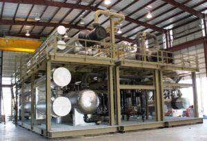 mechanical refrigeration plant