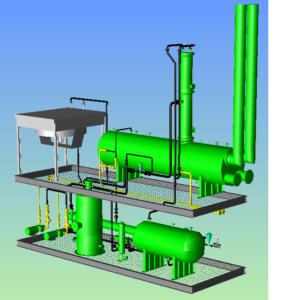glycol pipe design