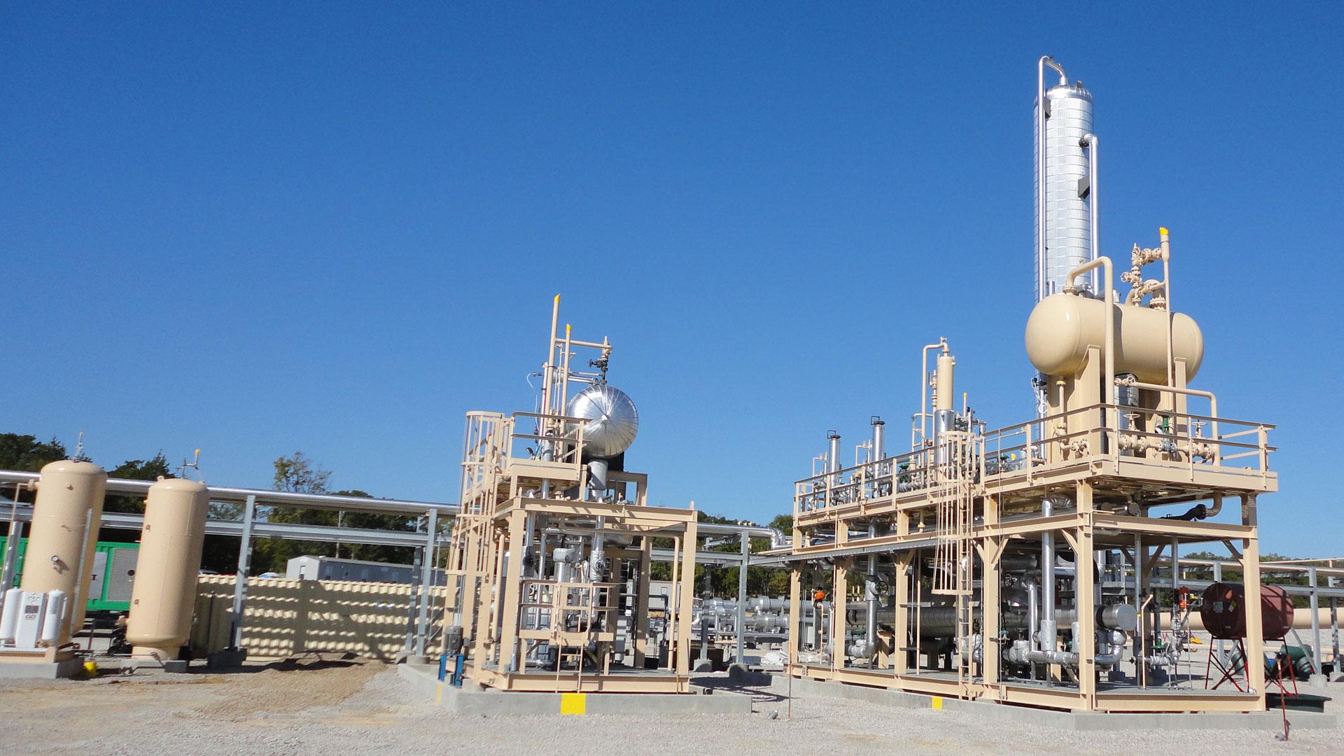 Condensate Stabilizer Plant