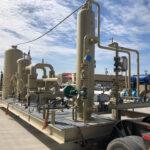 compressor station process skid