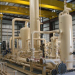 compressor station process skid